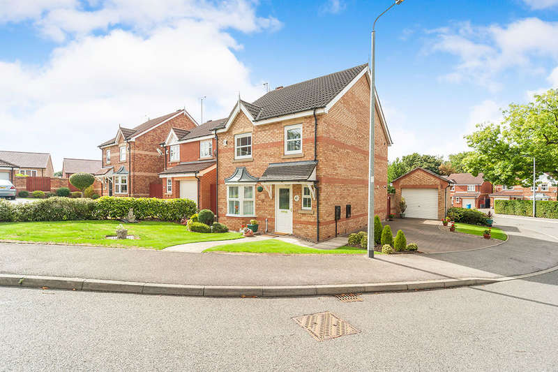 3 Bedrooms Detached House for sale in Western Gailes Way, Hull, HU8