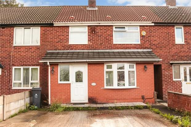 3 Bedrooms Terraced House for sale in Nelson Avenue, Whiston, Prescot, Merseyside