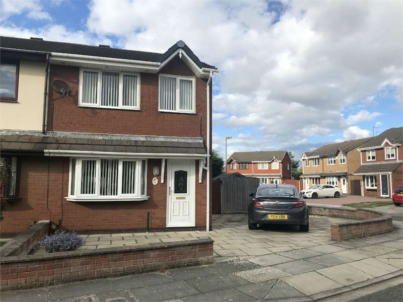 3 Bedrooms Semi Detached House for sale in Whitefield Close, Hightown, LIVERPOOL, Merseyside