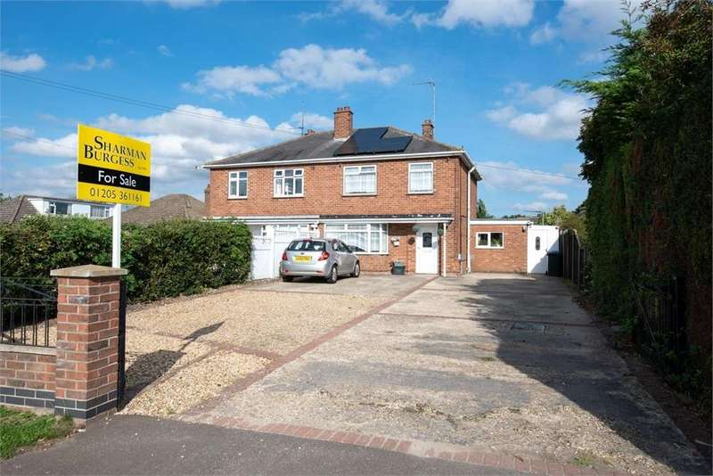 3 Bedrooms Semi Detached House for sale in Tattershall Road, Boston, Lincolnshire