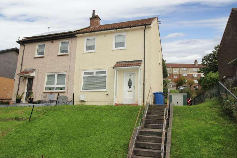 2 Bedrooms Semi Detached House for sale in 37 Lennox Drive, Faifley, G81 5JX