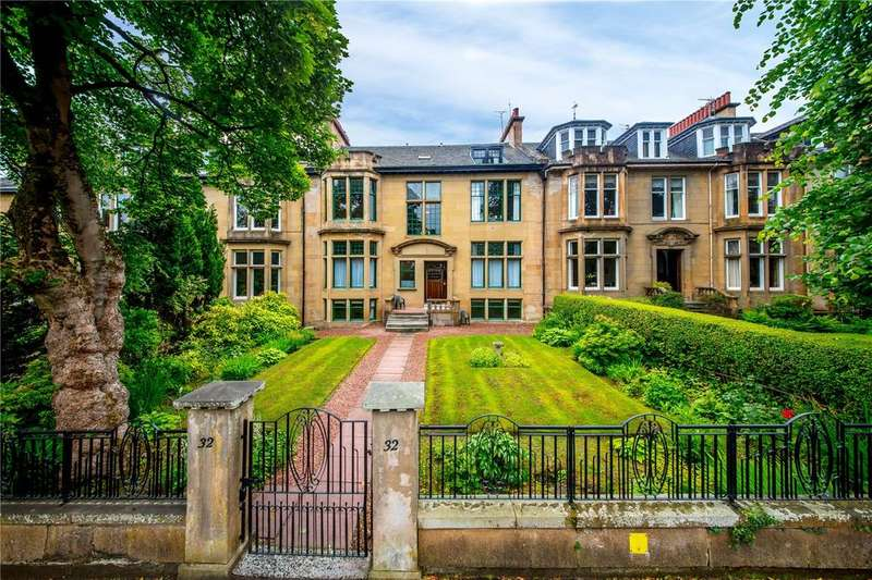 6 Bedrooms Terraced House for sale in Cleveden Drive, Glasgow, G12