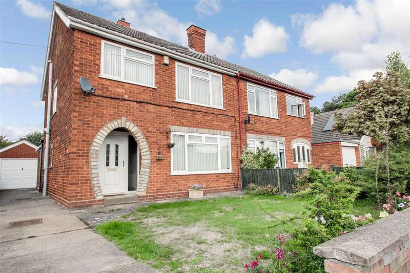 3 Bedrooms Semi Detached House for sale in Eastbrook Road, Lincoln