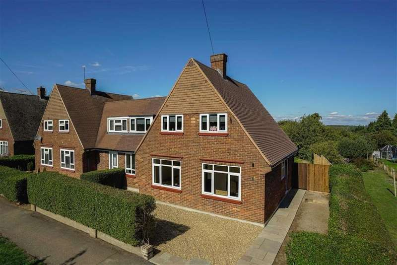 4 Bedrooms Semi Detached House for sale in Caesars Road, Wheathampstead, Hertfordshire