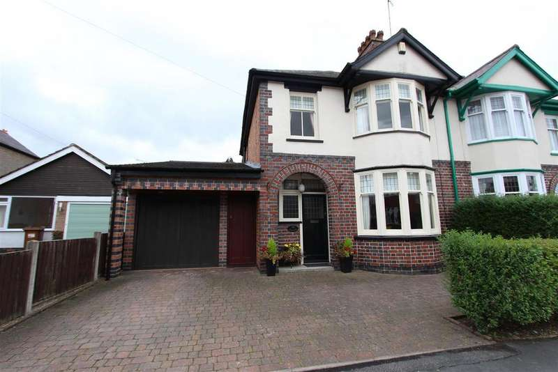 3 Bedrooms Semi Detached House for sale in Eastwoods Road, Hinckley
