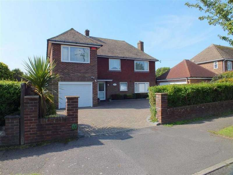 4 Bedrooms Detached House for sale in Hardwick Road, Folkestone, Kent, CT20