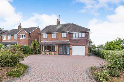 4 Bedrooms Detached House for sale in Bar Hill, Madeley, Crewe, Cheshire