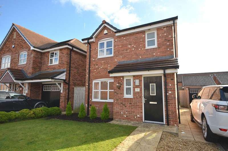 3 Bedrooms Detached House for sale in Green Mill Close, Westhoughton BL5
