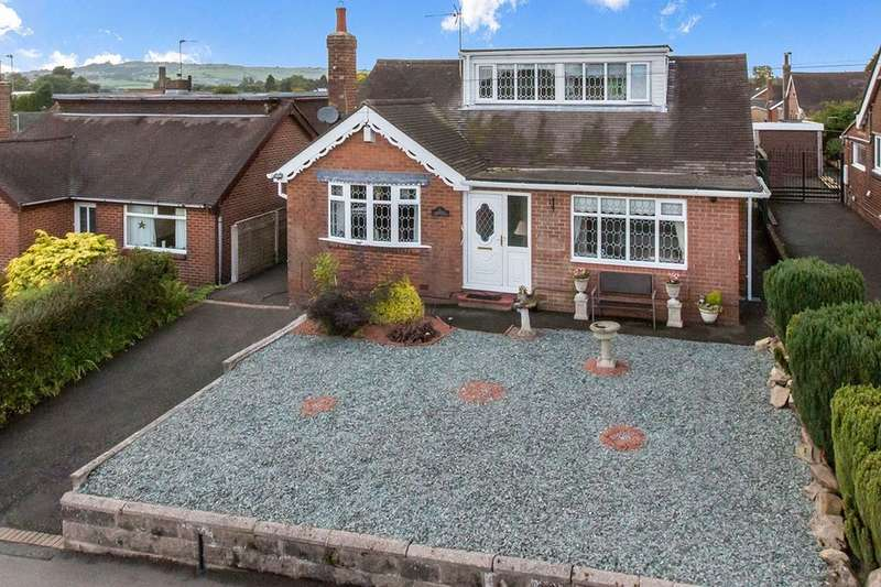 4 Bedrooms Detached Bungalow for sale in Mill Hayes Road, Knypersley, Stoke-On-Trent, ST8