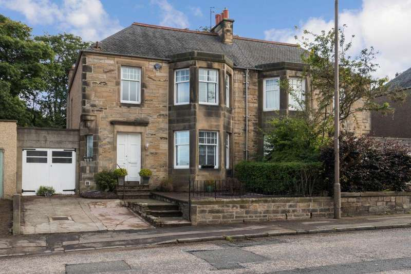 4 Bedrooms Semi Detached House for sale in 72 Cluny Gardens, Edinburgh, EH10 6BR