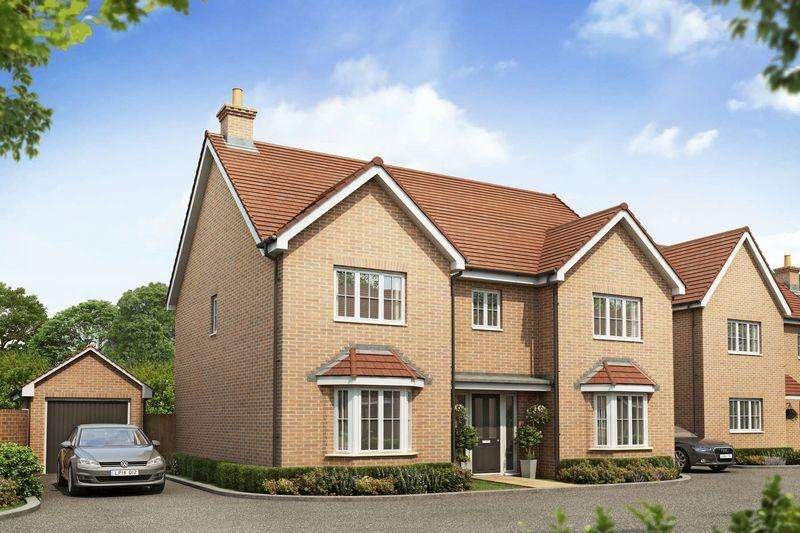 5 Bedrooms Detached House for sale in The Mappleton, Flitwick