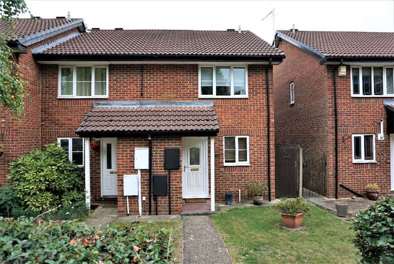 2 Bedrooms Semi Detached House for sale in BURGESS GARDENS, NEWPORT PAGNELL