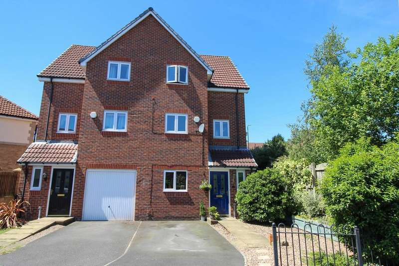 3 Bedrooms Semi Detached House for sale in Booker Close, Inkersall, Chesterfield
