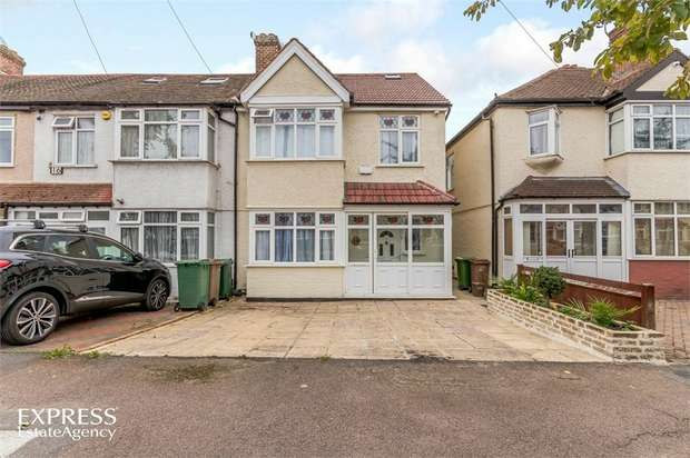 4 Bedrooms Semi Detached House for sale in Rosehill Avenue, Sutton, Surrey