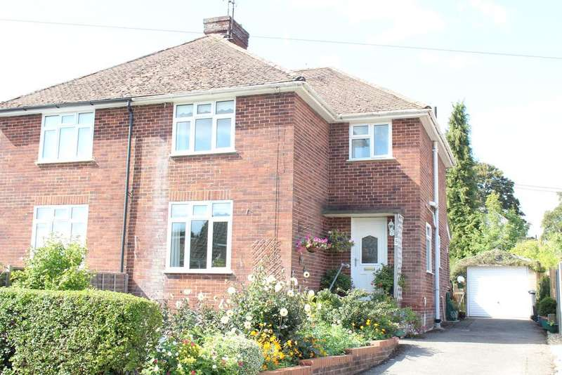 3 Bedrooms Semi Detached House for sale in Sarum Way, Hungerford RG17