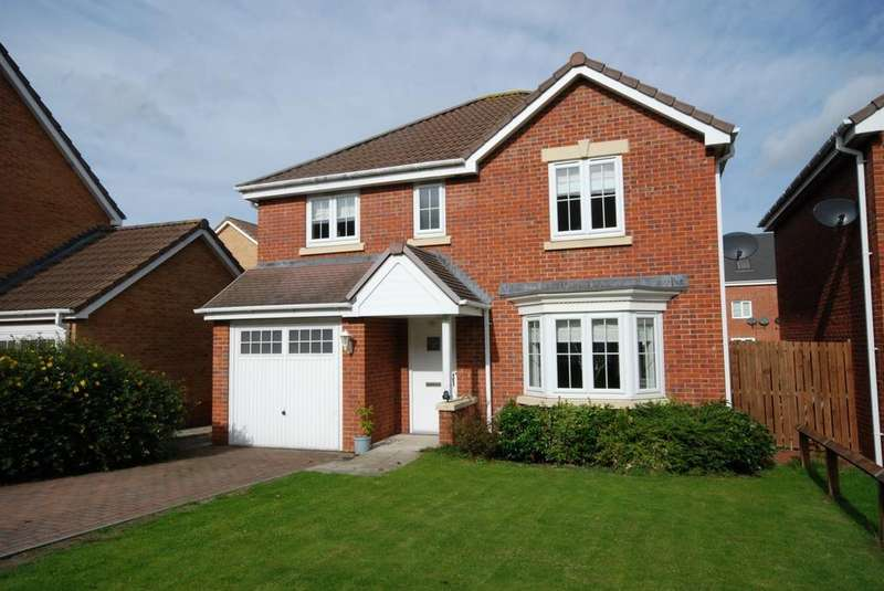 4 Bedrooms Detached House for sale in Bicester Grove, Hebburn
