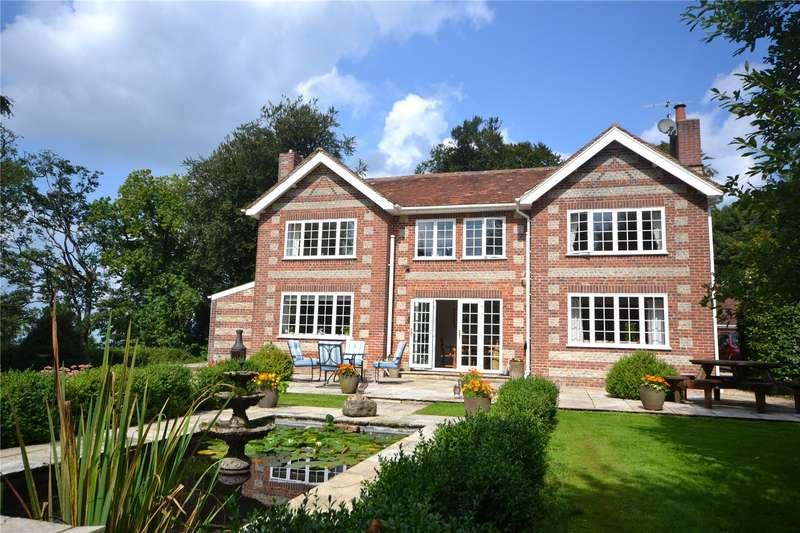 5 Bedrooms Detached House for sale in Pen Selwood, Wincanton, Somerset, BA9
