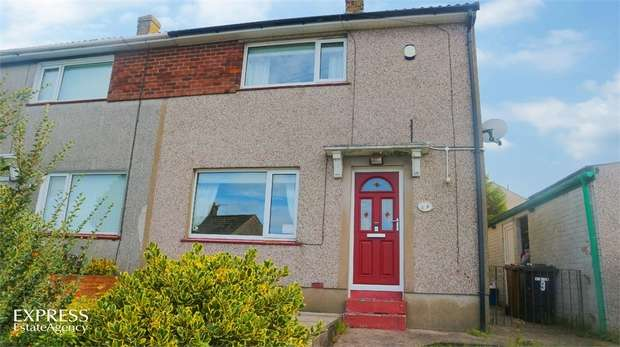 2 Bedrooms Semi Detached House for sale in Muncaster Close, Whitehaven, Cumbria