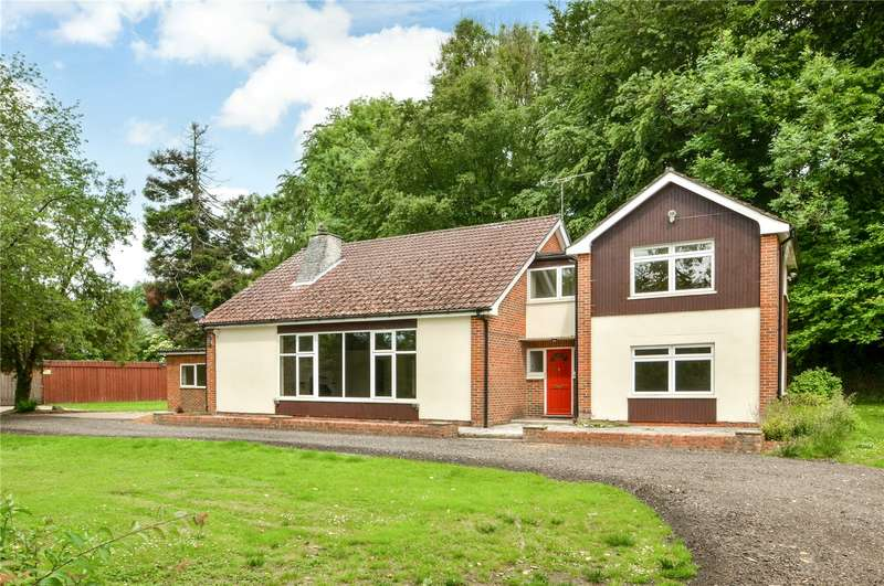 4 Bedrooms Detached House for sale in Staff Road, Michelmersh, Romsey, Hampshire, SO51