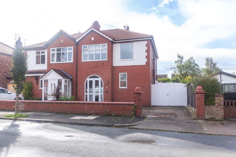 3 Bedrooms Semi Detached House for sale in Maidstone Road, Heaton Mersey