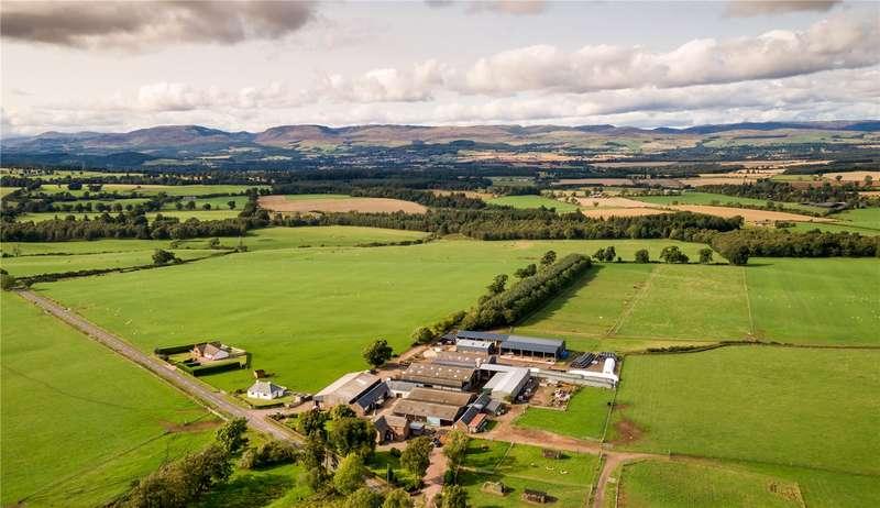 4 Bedrooms Farm Commercial for sale in West Park Farm, Auchterarder, Perthshire, PH3