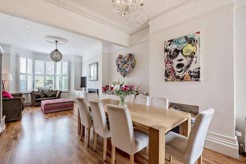 5 Bedrooms Semi Detached House for sale in Gladwell Road, Crouch End