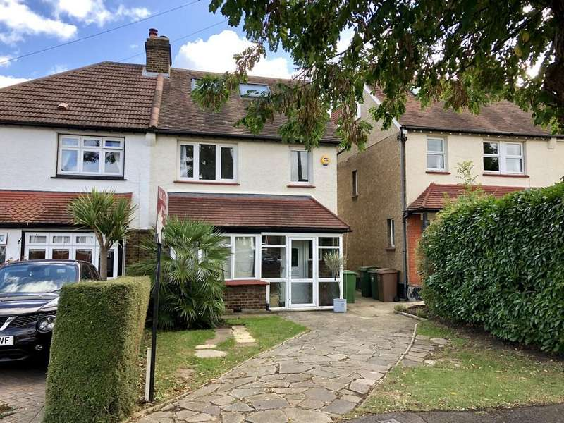 4 Bedrooms Semi Detached House for sale in Windborough Road, Carshalton
