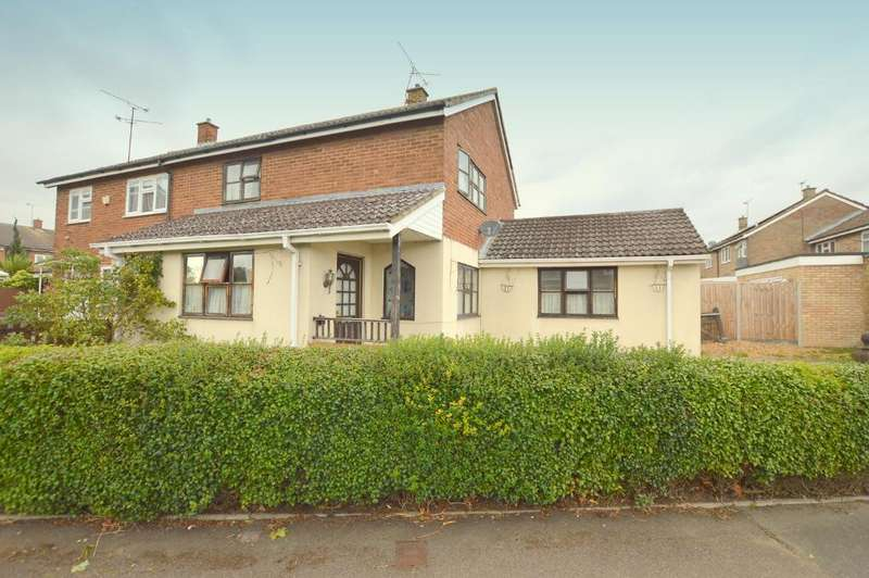 4 Bedrooms Semi Detached House for sale in Kent Road, Houghton Regis, Bedfordshire, LU5 5NZ