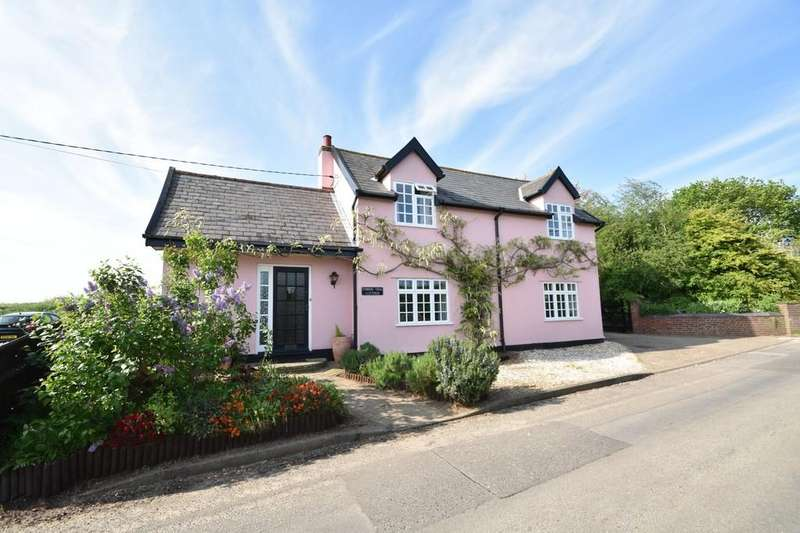 4 Bedrooms Detached House for sale in The Street, Erwarton, Ipswich, IP9 1LN
