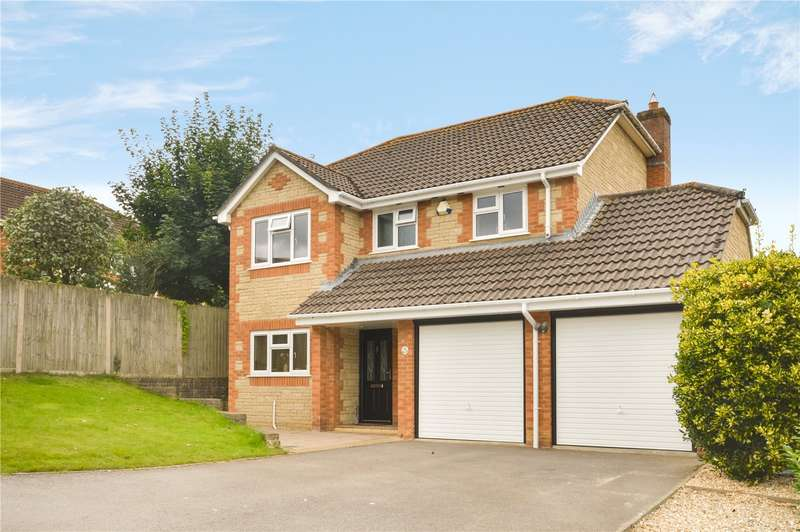 4 Bedrooms Detached House for sale in Watercombe Heights, Yeovil, Somerset, BA20