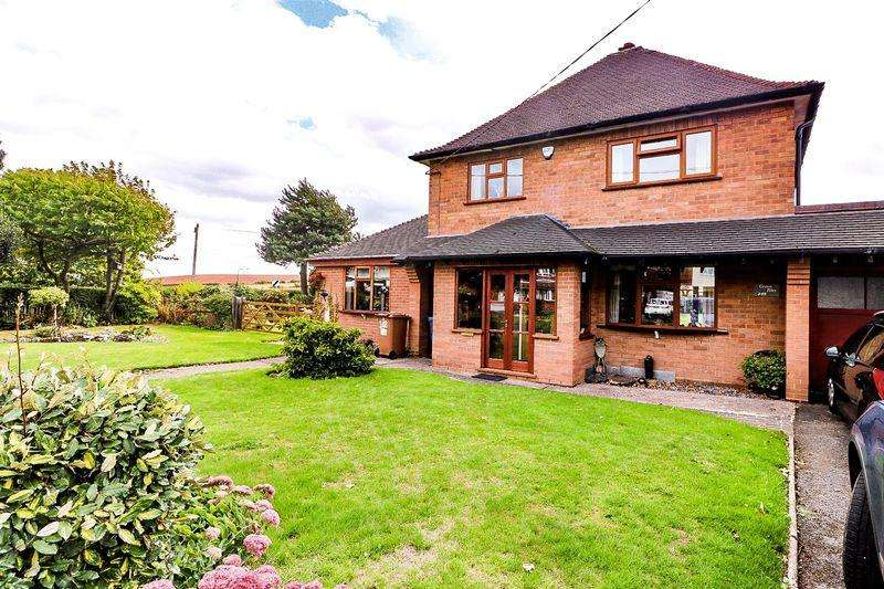 3 Bedrooms Detached House for sale in Main Street, Stonnall, Walsall
