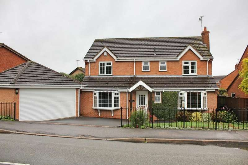 4 Bedrooms Detached House for sale in Foston Gate, Wigston, Leicester