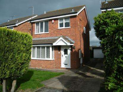3 Bedrooms Detached House for sale in Carrington Way, Crewe, Cheshire