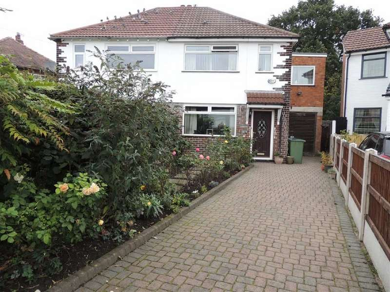 3 Bedrooms Semi Detached House for sale in Doyle Avenue, Bredbury, Stockport