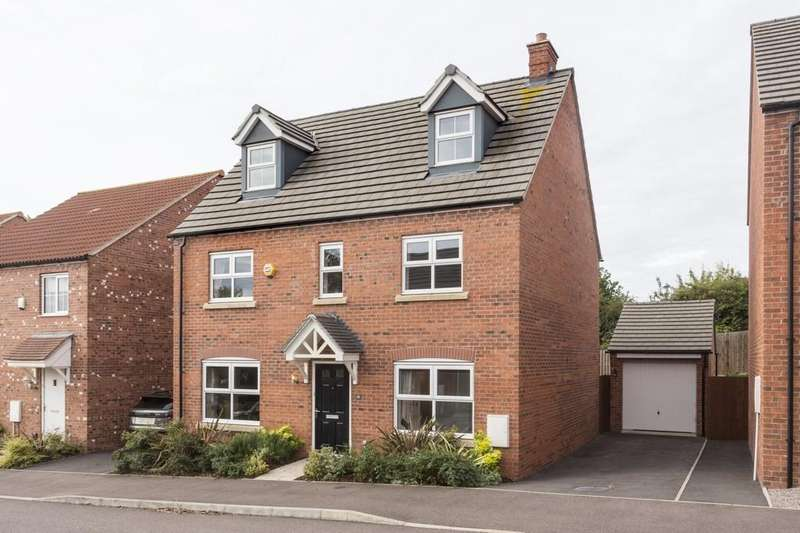 5 Bedrooms Detached House for sale in Lammas Drive, Hathern