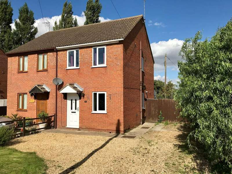 2 Bedrooms Semi Detached House for sale in Milestone Lane, Pinchbeck, Spalding, PE11