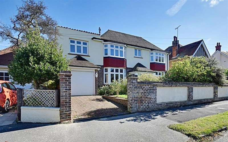 5 Bedrooms Detached House for sale in Westville Road, Bexhill-On-Sea