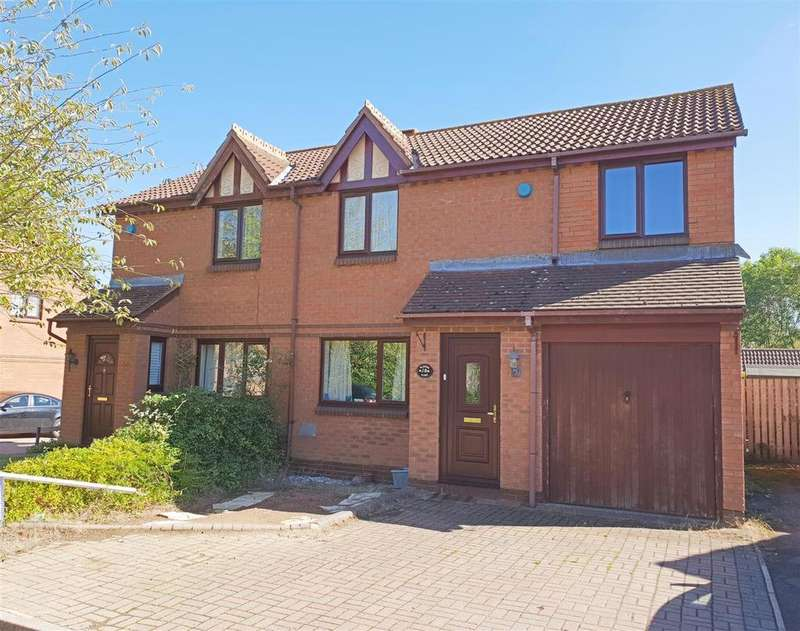4 Bedrooms Semi Detached House for sale in Blaydon Close, Bletchley, Milton Keynes