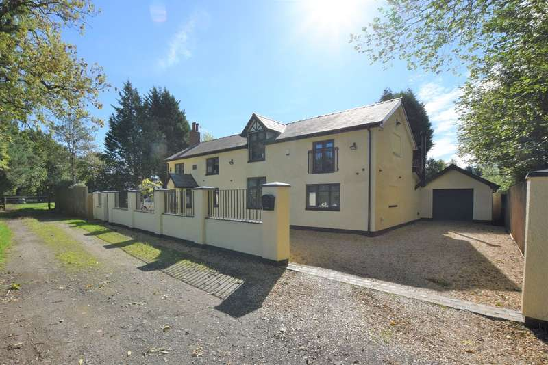 4 Bedrooms Detached House for sale in Longsight Lane, Cheadle Hulme