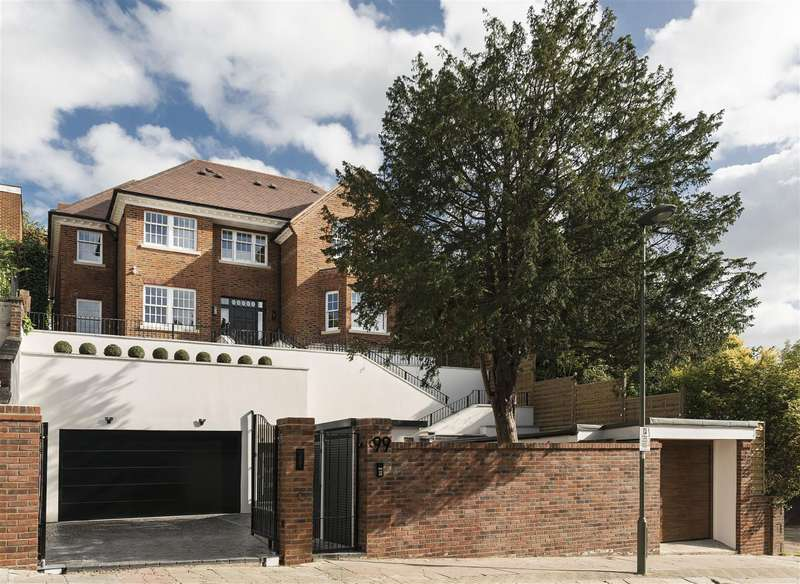 7 Bedrooms House for sale in West Heath Road, Hampstead NW3