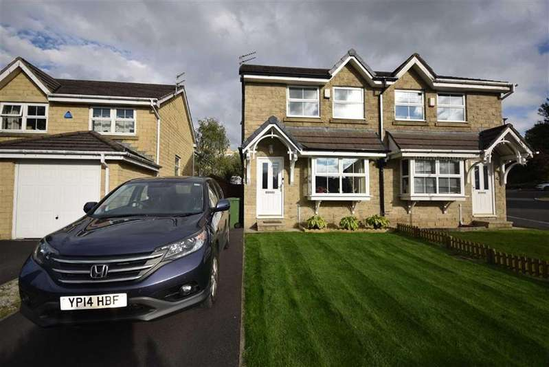 3 Bedrooms Semi Detached House for sale in Quakers View, Brierfield, Lancashire