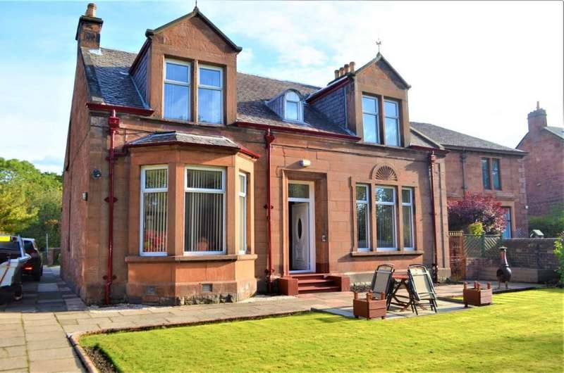 4 Bedrooms Detached House for sale in Jerviston Street, Motherwell, North Lanarkshire, ML1 4BL