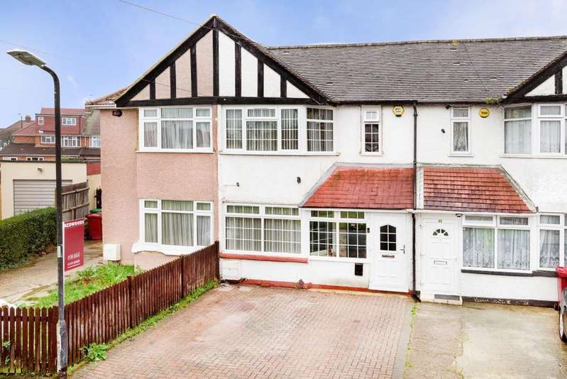 2 Bedrooms Terraced House for sale in Mildenhall Road, Slough, Berkshire, SL1 3JF