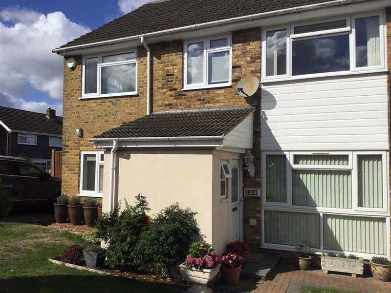 3 Bedrooms Semi Detached House for sale in Grovebury Close, Dunstable