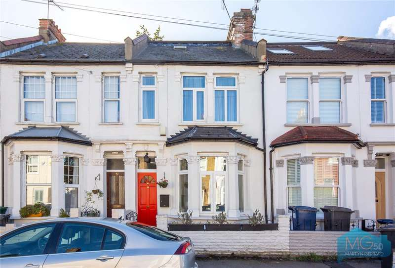 3 Bedrooms Terraced House for sale in Brackenbury Road, East Finchley, London, N2