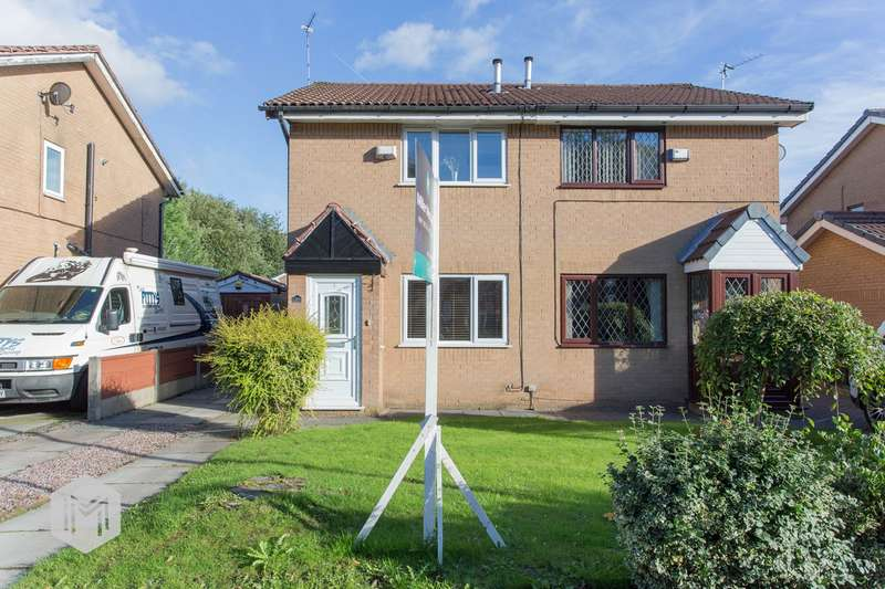 2 Bedrooms Semi Detached House for sale in Woodhill Road, Bury, BL8