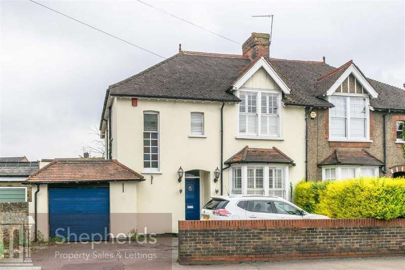 4 Bedrooms Semi Detached House for sale in Ware Road, Hoddesdon, Hertfordshire, EN11