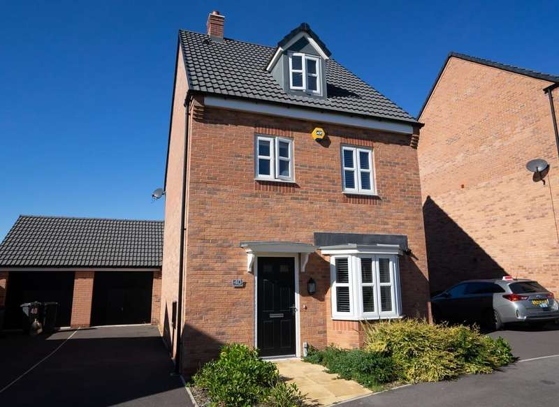 4 Bedrooms Detached House for sale in Knightwood Road, Thurmaston, Leicester