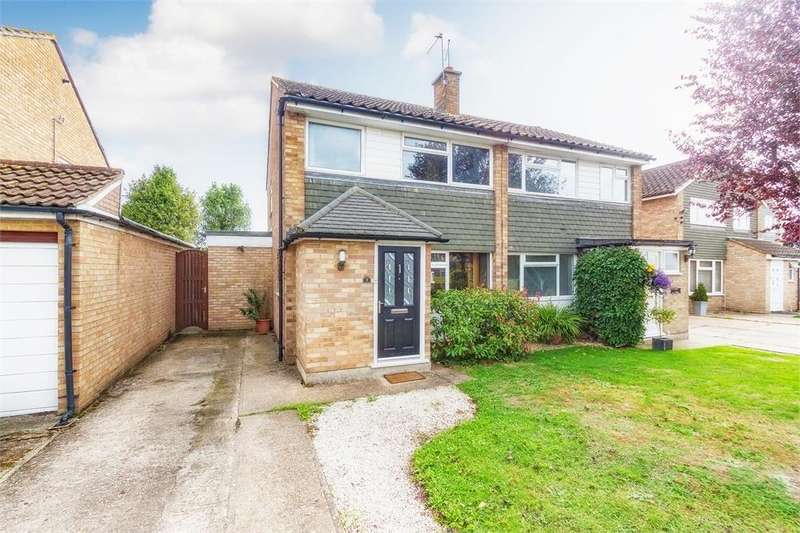 3 Bedrooms Semi Detached House for sale in Hag Hill Rise, Taplow, Maidenhead, Buckinghamshire