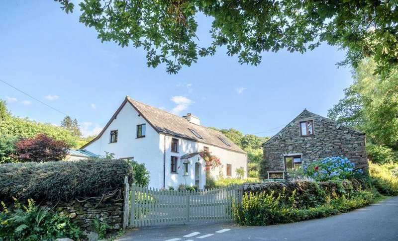 3 Bedrooms Detached House for sale in Mill Cottage Barn, Broughton Mills, Cumbria